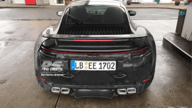 Photo of SPYSHOTS: Porsche 911 992 GT3 forklædt som Turbo