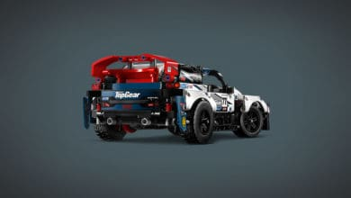 LEGO udgiver ny Top Gear Rallybil